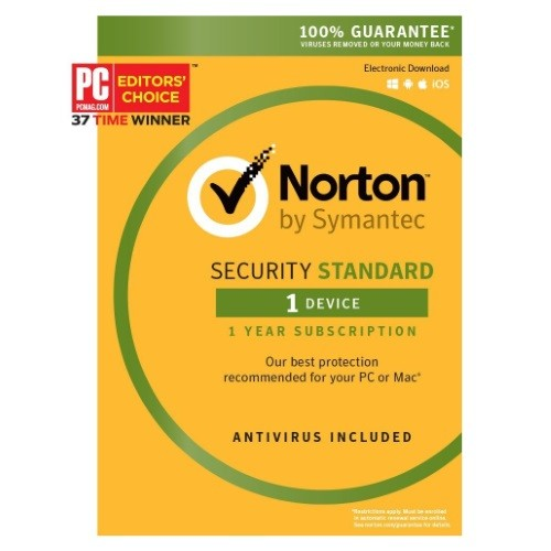 Norton Security Standard Product Key - 1 Device