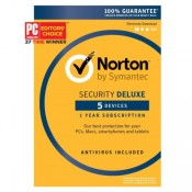 Norton Security Deluxe License Key - 5 Devices
