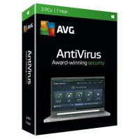 AVG Antivirus 2016 Product Key - 3 Users 1 Year