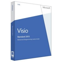 Microsoft Visio Standard 2013 Activation Key No Disc